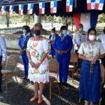 Realizan cremación de banderas en Gobernación de Colón