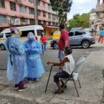 Realizan pruebas de hisopados en la Huerta Sandoval
