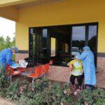 Realizaron hisopados en Tortí, Panamá Este