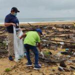 Recolectan más de mil libras de desechos en playa Puerto Pava de Colón